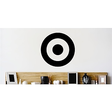Design With Vinyl Bullseye Target Wall Decal