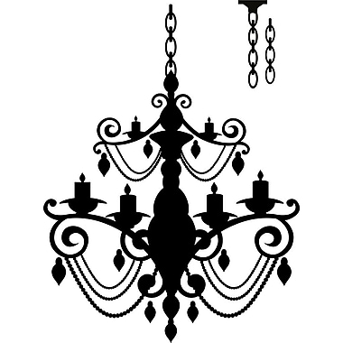 Design With Vinyl Chandelier Wall Decal