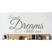 Design With Vinyl Sweet Dreams Little One Wall Decal
