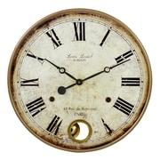 Aspire 22'' Raleigh Pendulum Wall Clock
