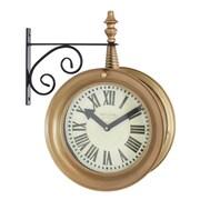 Aspire 17'' Delcampe Train Station Wall Clock