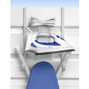 Spectrum Diversified Over the Door Iron and Ironing Board Holder