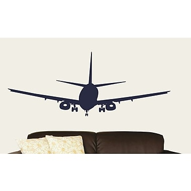 Design With Vinyl Airplane Wall Decal