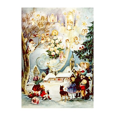 Alexander Taron Large Angel and Kids Advent Calendar