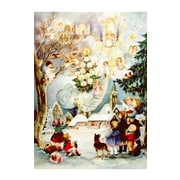 Alexander Taron Large Angel and Kids Advent Calendar