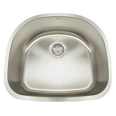 Artisan Sinks Premium Series 23.5'' x 21'' Undermount Single Bowl Kitchen Sink
