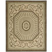 Nourison Versaille Palace Mocca Rug; 5'3'' x 8'3''