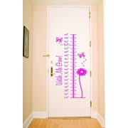 Design With Vinyl Growth Chart Measurement Ruler Wall Decal