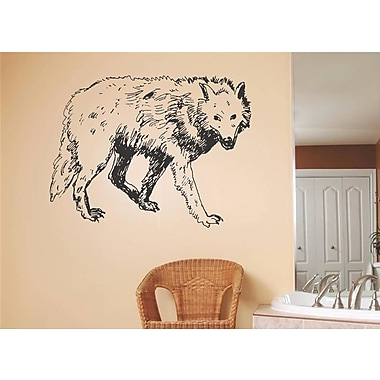 Design With Vinyl Timber Wolf Wall Decal