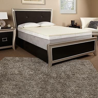 Luxury Solutions 1'' Memory Foam Mattress Topper; Full
