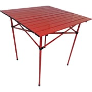 String Light Co Portable Dining Table in Red