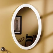 Jensen Dunhill 21'' x 31'' Recessed Mirror Cabinet; White