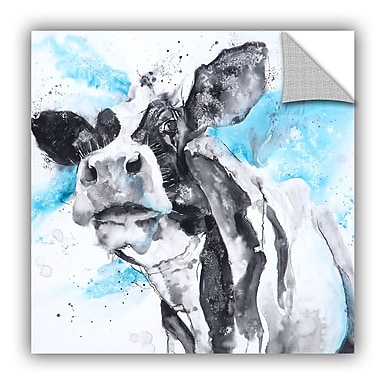 ArtWall Cow 48 Wall Mural; 24'' H x 24'' W x 0.1'' D