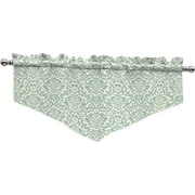 Traditions by Waverly Duncan Damask 52'' Curtain Valance; Spa