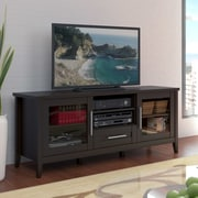 Rebrilliant Espresso Wood 59'' TV Stand