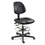 BEVCO Dura Ergonomic Drafting Chair; Casters