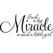 Design With Vinyl Miracle Wall Decal