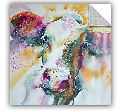 ArtWall Cow 31 Wall Mural; 36'' H x 36'' W x 0.1'' D