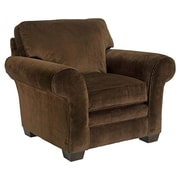 Broyhill  Zachary Armchair; Dark Brown