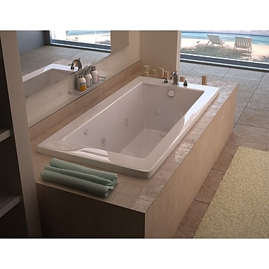 Spa Escapes Guadalupe Dream Suite 72'' x 36'' Rectangular Air & Whirlpool Jetted Bathtub
