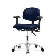 Perch Chairs & Stools Multi-Task Low-Back Desk Chair; Imperial Fabric