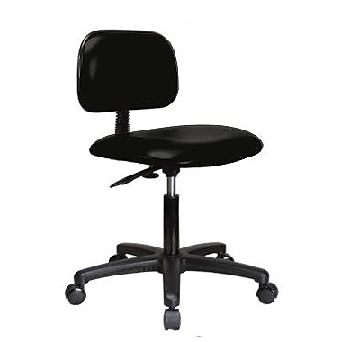 Perch Chairs & Stools Low-Back Desk Chair; Black