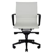 Wobi Office Bradley Mid-Back Desk Chair; White