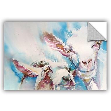 ArtWall Goat 4 Wall Mural; 32'' H x 48'' W x 0.1'' D