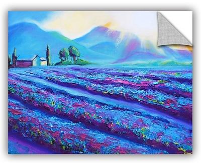 ArtWall Provence Dawning Wall Mural; 24'' H x 32'' W x 0.1'' D