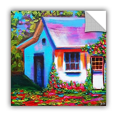 ArtWall Provence Rose Cottage Wall Mural; 24'' H x 24'' W x 0.1'' D