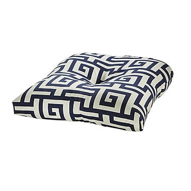 Tempo Terrasol Outdoor Dining Chair Cushion; Navy