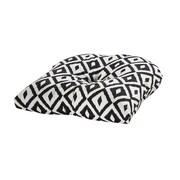 Tempo Terrasol Outdoor Dining Chair Cushion; Black