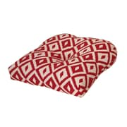 Tempo Terrasol Outdoor Dining Chair Cushion; Chili Pepper