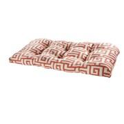 Tempo Terrasol Outdoor Sofa Cushion; Coral