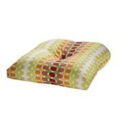 Tempo Terrasol Outdoor Dining Chair Cushion; Citrus