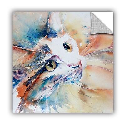 ArtWall Cat 14 Wall Mural; 18'' H x 18'' W x 0.1'' D