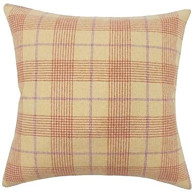 The Pillow Collection Geraint Plaid Bedding Sham; Euro