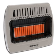KozyWorld 30,000 BTU Propane Infrared  Wall Mounted Heater