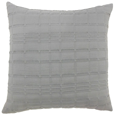 The Pillow Collection Welmoed Solid Bedding Sham; Euro