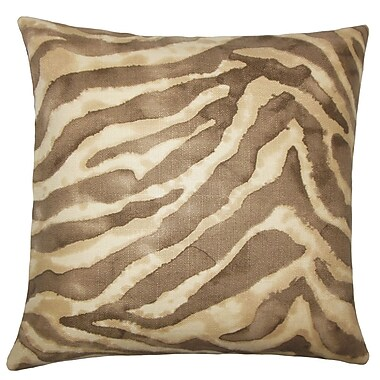 The Pillow Collection Zelig Animal Print Bedding Sham; Euro