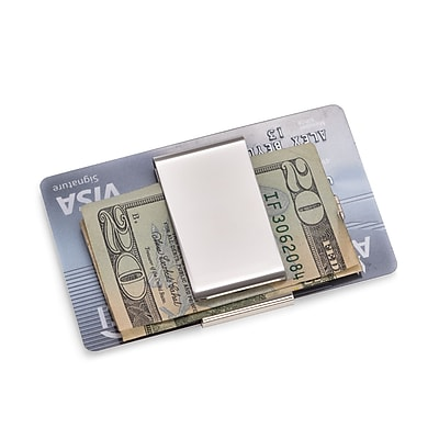 Bey-Berk Twin Slot Money Clip (BB198S)