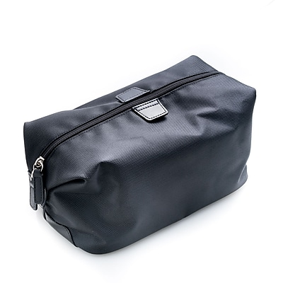 Bey-Berk Black Ballistic Nylon Travel Dopp (BB204B)
