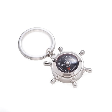 Bey-Berk Key Ring with Compass (BB210)