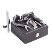 Bey-Berk 25 pc. Tool Set in Black Leatherette Case (BB400)