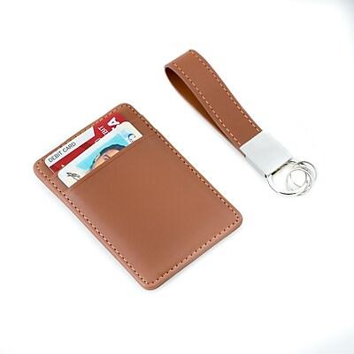 Bey-Berk Travel Wallet & Key Ring Set (BB504W) 2267377