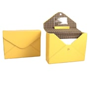 Bey-Berk Stationery Box (BB571YLW)