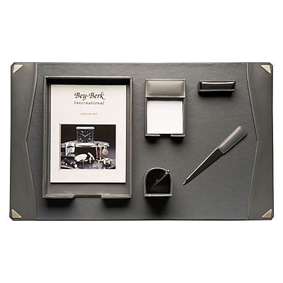 Bey-Berk 6 Piece Desk Set (D2009)
