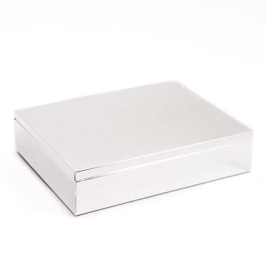 Bey-Berk Silver Plated Hinged Box (D523)