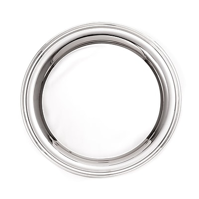 Bey-Berk Nickel Plated Tray (D560M)