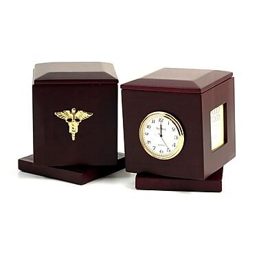 Bey-Berk Swivel Frame Box with Clock, Dental (R49D)